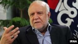 بیژن نامدار زنگنه وزیر نفت ایران - آرشیو
