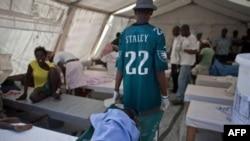 Больница в столице Гаити Порт-о-Пренс