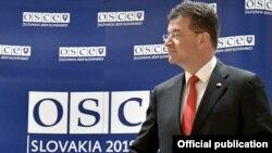 Miroslav Layçak, ATƏT-in fəaliyyətdə olan sədri, Slovakiyanın xarici işlər naziri