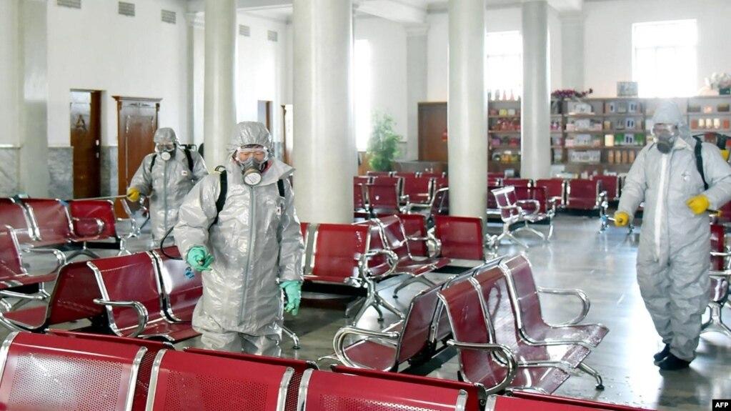 朝鲜官媒警告,来自中国的粉尘可能携带新冠病毒