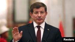 Perdana Menteri Turki Ahmet Davutoglu (Foto: dok).