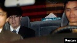 Phái đoàn Nhật Bản, do nhà ngoại giao Junichi Ihara (phía sau) của Bộ Ngoại giao dẫn đầu.