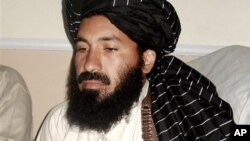 Pakistani militant commander Maulvi Nazir meets his associates in South Waziristan, Pakistan near the Afghani border. (file) Nazir was killed earlier this year.