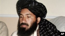 امریکی ڈرون حملے میں ہلاک ہونے والے پاکستانی طالبان کمانڈر مولوی نذیر کی ایک فائل فوٹو