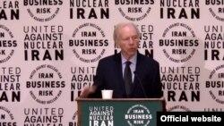 جو لیبرمن در نشست اتحاد در برابر ایران اتمی - آرشیو