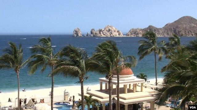 Los Cabos, Mexico. (VOA/Greg Flakus)