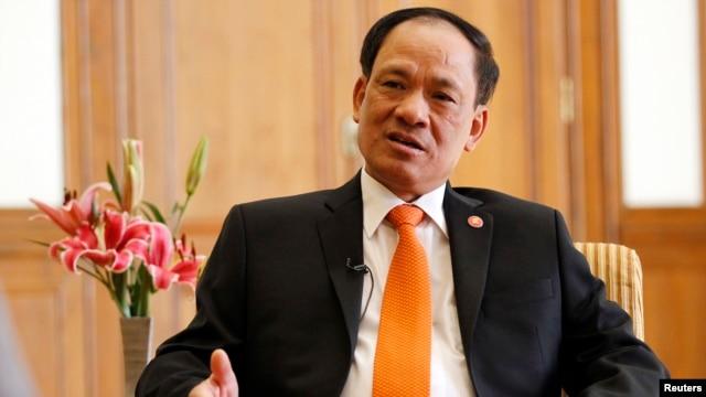 Tổng Thư Ký ASEAN Lê Lương Minh.