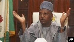 Gwamna Kashim Shettima na Jihar Borno