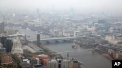 Pollution de l'air en Grande Bretagne