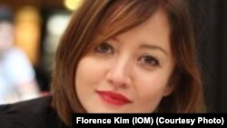 Florence Kim, porte-parole de l'OIM