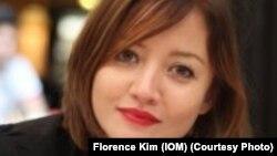 Florence Kim, de l'OIM, joint par Jacques Aristide