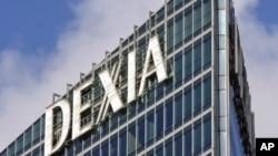 德克夏(Dexia)银行在法国的一个分行(资料照)