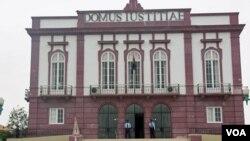 Tribunal provincial do Namibe (VOA / Armando Chicoca)