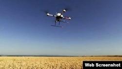 無人機巡視莊稼(FAA網頁截圖)