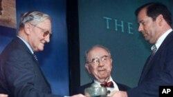 Dr. Walter Plowright, kiri, mengembangkan vaksin awal penyakit sampar sapi pada tahun 1960 (foto: Dok).