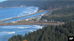 La Push, Washington is home to the Quileute Tribe, which lives right on the water's edge.