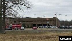 Lokasi terjadinya penembakan di sekolah menengah atas 'Marshall county high school' di Benton, Kentucky (foto: dok).