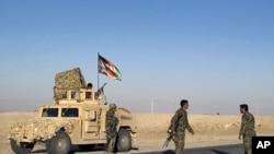 Binh sĩ Afghanistan tại tỉnh Helmand