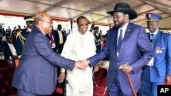 Rais Bashir akutana na Salva Kiir.