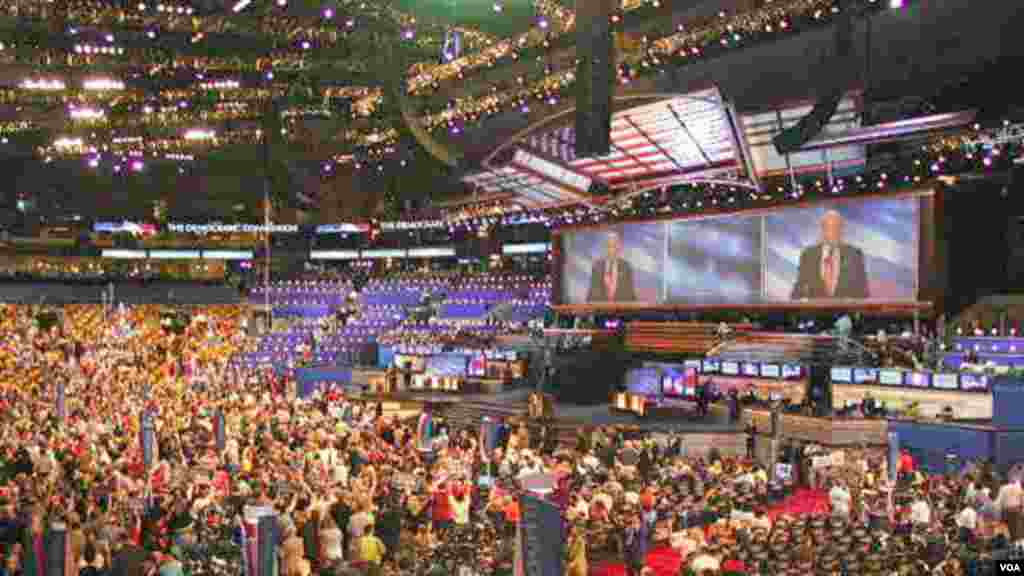 Une vue de la Convention 2012 du Parti démocrate