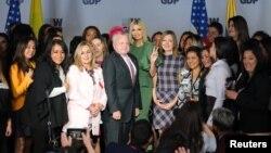La asesora del gobierno de EE.UU., Ivanka Trump, asistió el martes 3 de septiembre de 2019 a la presentación la Academia de Mujeres Emprendedoras en Colombia.