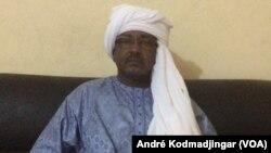 Djiddi Allahi Mahamat, député du département du Tibesti, le 30 novembre 2018. (André Kodmadjingar)