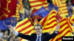 Artur Mas president of Catalonia