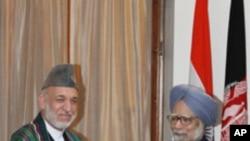 کرزئی کا دورہٴ بھارت: تین معاہدوں پر دستخط