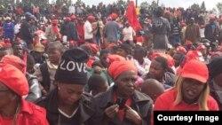 Tsvangirai Rally Gweru