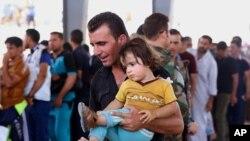 Yan gudun Hijiran Iraqi