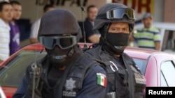 墨西哥緝毒官員執行任務(資料照)