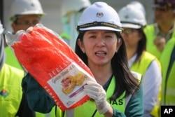 Menteri Lingkungan Malaysia, Yeo Bee Yin.