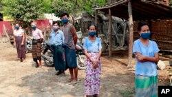 Virus Outbreak Myanmar