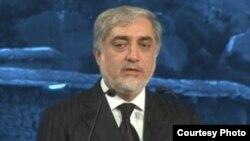 """عبدالله عبدالله در کنفرانس دهلی نو تحت نام """"جنگ بی پایان یا آغاز تازه"""""""