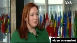 美國國務院主管歐洲與歐亞事務的副助理國務卿莫莉·蒙哥馬利 (視頻截圖)