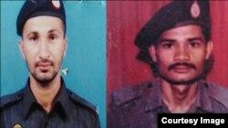 عامر خان (بائیں جانب) اور اشرف داؤد (دائیں جانب)