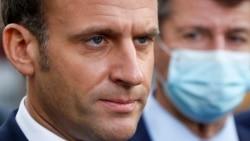 فرانس کے صدر ایمانوئل میکرون، فائل فوٹو