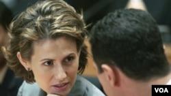 Ibu negara Suriah, Asma al-Assad (Foto: dok).