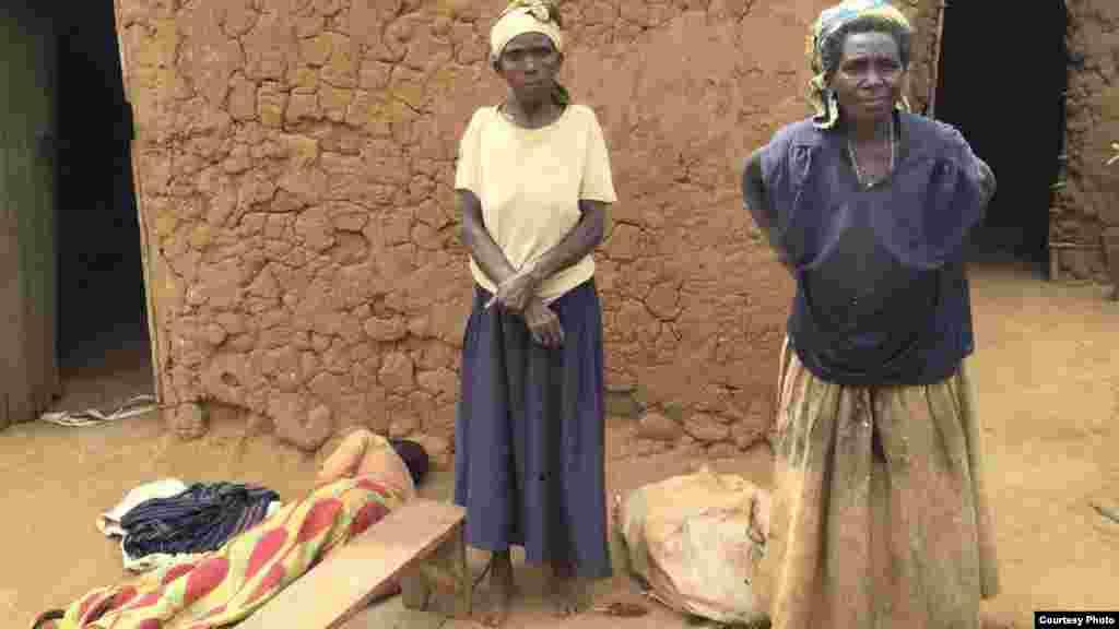 Fari ya shafi wasu sassan kasar Rwanda.