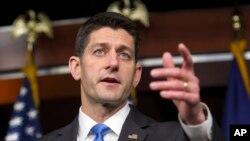 Ketua DPR AS dari Partai Republik, Paul Ryan.