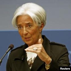 ທ່ານນາງ Christine Lagarde ຜູ້ອໍານວຍການກອງທຶນສາກົນ, April 12, 2012.
