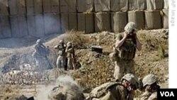 Tentara AS dalam operasi militer di Afghanistan.