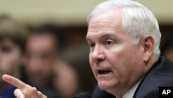 Defense Secretary Robert Gates (file photo)