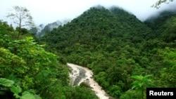 General view of the National Park Tapamti in Orosi, 80 miles (128km) of San Jose May 25, 2007. (REUTERS/Juan Carlos Ulate)