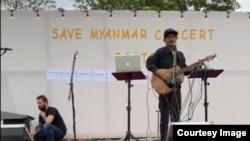 ေဘာ္စတြန္ျမဳိ႕က Save Myanmar Concert ဂီတ ေဖ်ာ္ေျဖပဲြနဲ႔ အစားေသာက္ေရာင္းခ်ပဲြ ( ဓါတ္ပုံ - Boston Free Burma )