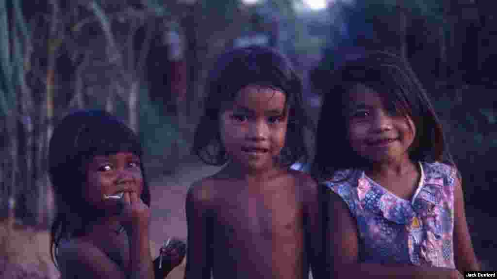 Children at Khao I Dang, May 1981. (Jack Dunford)