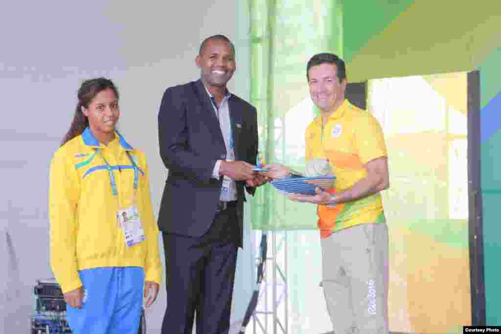 Rwanda Rio 2016