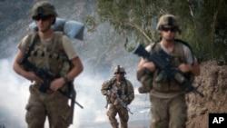 Soldats de l'armée américaine en Afghanistan. (AP photo)