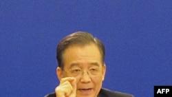 中国总理温家宝在2010年3月发表谈话