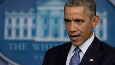 美国政坛奥巴马在记者会上讲话(2014年12月19日)